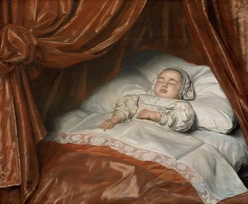 Johannes Thopas, Portret van een overleden meisje